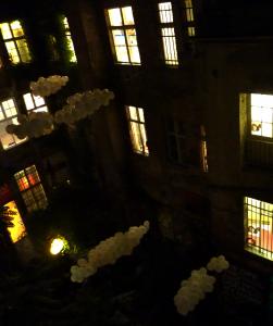 MOCTA - Blick in den Innenhof Foto: Cosima Santoro